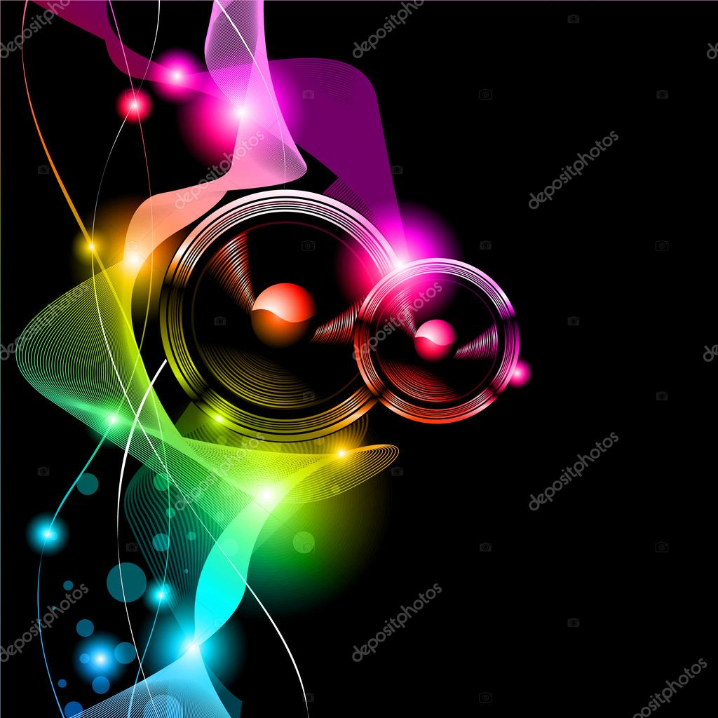 Alternative Disco Flyer for International Music Event — Stock Vector #6717527