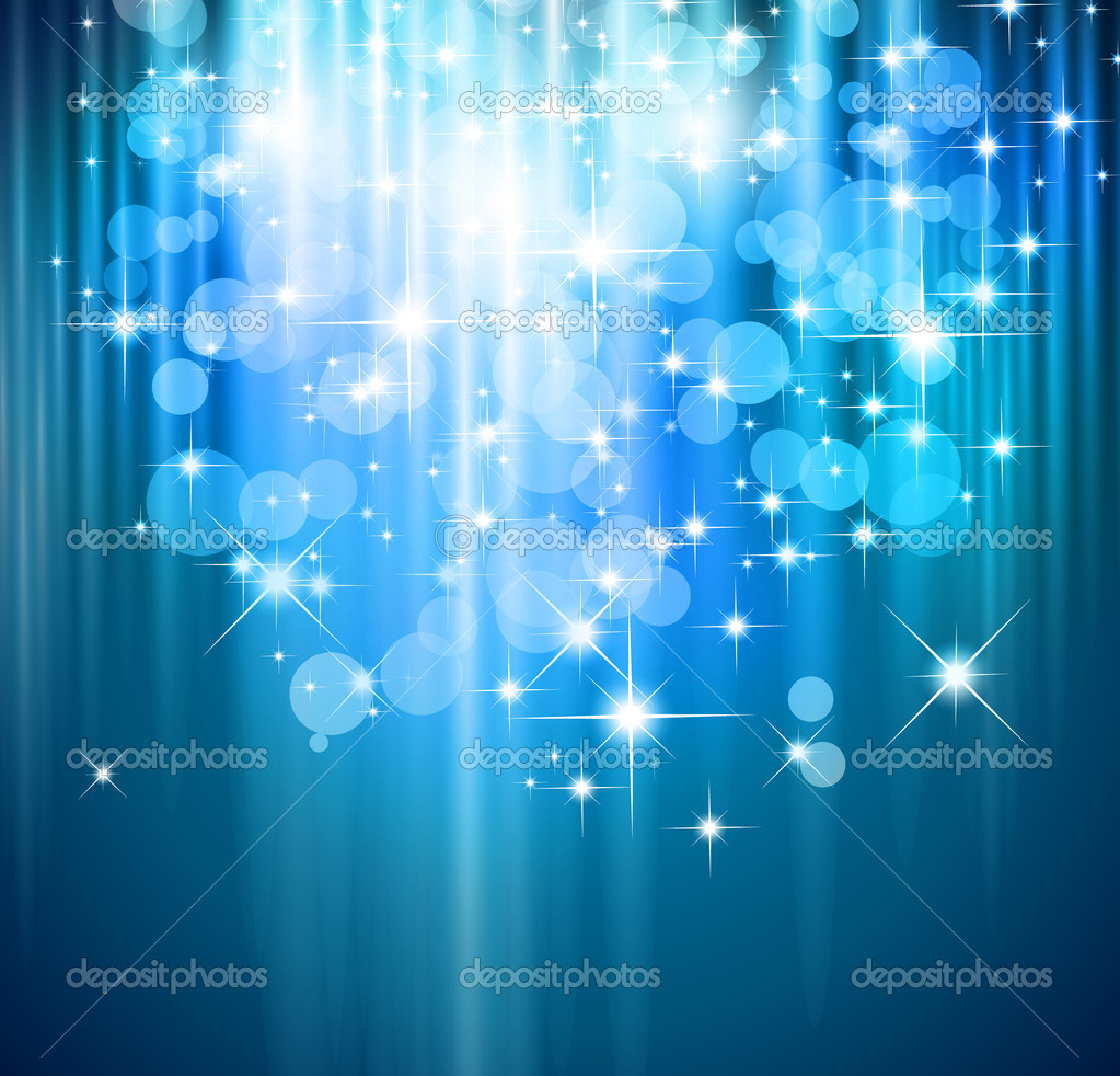 Magic Waterfall of lights for Suggestive Flyers  — Stock Vector #6718376