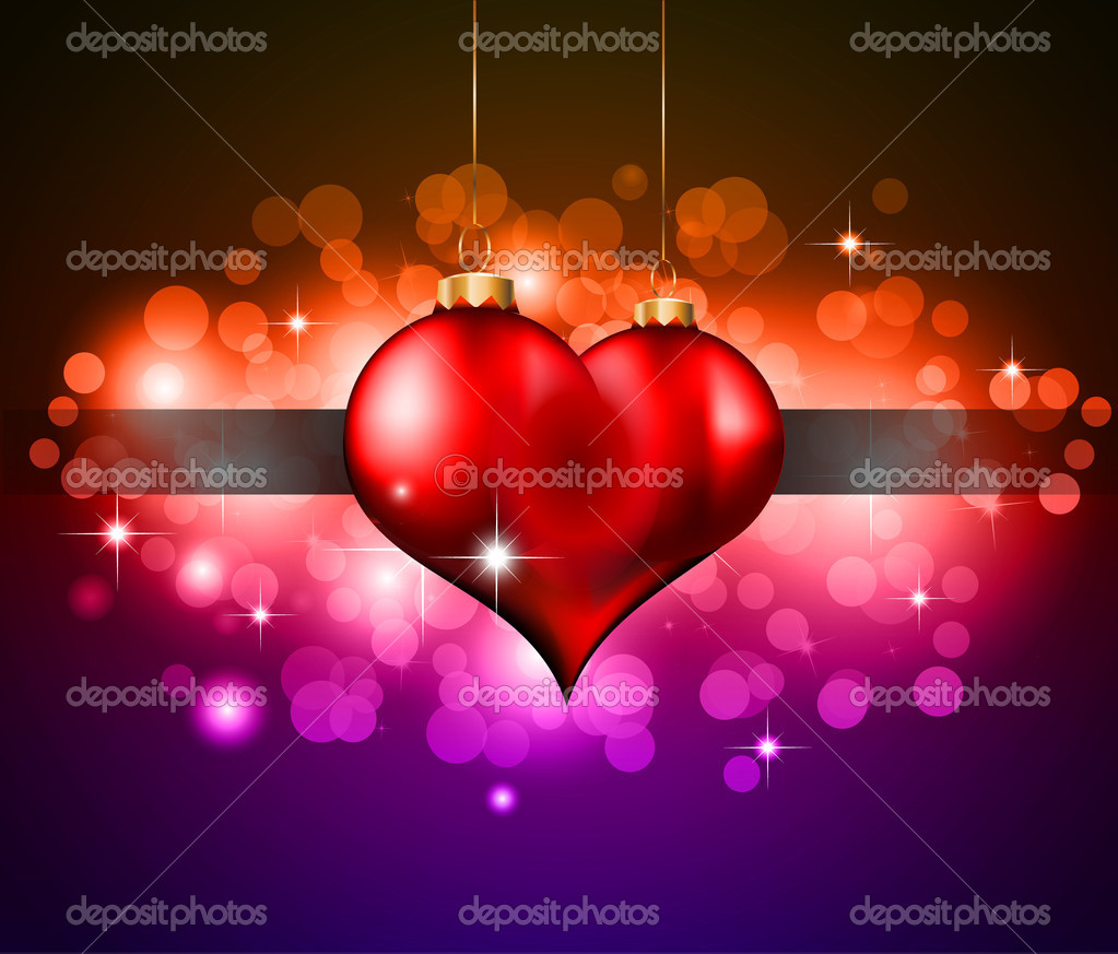 Abstract Colorful Background For Valentine's day Flyer — Stock Vector #6719438