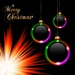 Merry Christmas Suggestive Background - Stock Vector