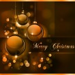 Merry Christmas Elegant Suggestive Background — Stock Vector #6721438