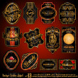 Royalty-Free Stock Imagen vectorial: Vintage Labels -- Set 13