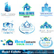 Real Estate Design Elements - Set 1 — Imagen vectorial