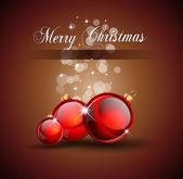 Fondo de navidad para folletos de invitación — Vector de stock