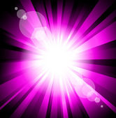 Colorful Explosion Purple Version — Stock Vector