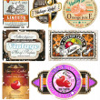Vintage Labels Collection  - Set 7 - Stock Vector
