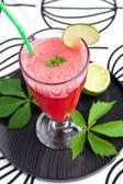 Watermelon lemonade — Stock Photo