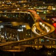 Stock Photo: City of Portland Light Trails on Marquam Freeway