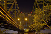 Under the Columbia River Crossing Interstate Bridge — Stock Photo