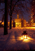 Park in winter — Stock Photo