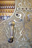Engraved cash register in shop — Stock Photo