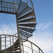 Spiral stairway - Stock Photo