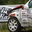 Постер, плакат: Car accident during Mountain Race