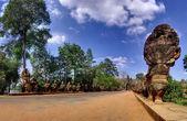 Angkor wat in cambogia — Foto Stock