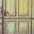 Old worn door — Stock Photo