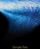Vektorové geometrické tech pozadí. eps10