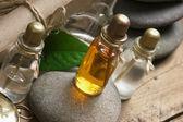 Vials of perfume