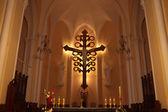 Ukřižování v římsko-katolická katedrála