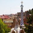 thumbnail of BARCELONA, SPAIN -May 27: The famous Park Guell on May 27, 2