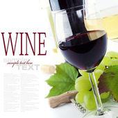 Szemüveg, a bor és a szőlő