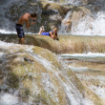 thumbnail of Posing Dunns Falls Jamaica