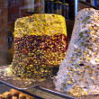 thumbnail of Traditional Turkish sweets in Istanbul shop.