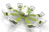 Globális hálózata