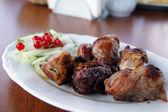 Russian meat. shashlyk