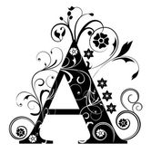 Letter Capital A