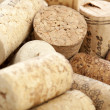 Wine corks good for background
