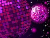 Celebratory disco ball background