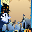 thumbnail of Parchment with Halloween topic 2