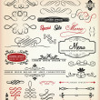 Vector set of decorative element