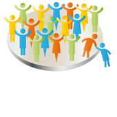 Person join members company group