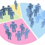 thumbnail of People statistics population data pie chart