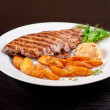 thumbnail of Juicy beef steak