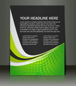 Vector editable Presentation of Flyer/Poster design content background