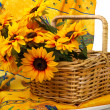 thumbnail of Romantic still life with sunflowers in the Provence