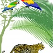 thumbnail of Parrot and Jaguar