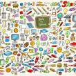 thumbnail of Learning Mega School Set Vector Illustration