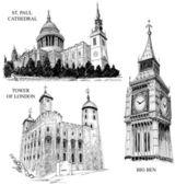 Londýn architektonickými symboly