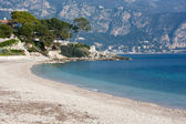Tropical beach in south of france