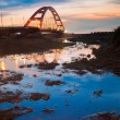 thumbnail of Color Red Bridge Sunset, Chuk Yuen, Taoyuan County, Taiwan