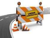 Silnice ve výstavbě