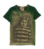 Green t-shirt with print