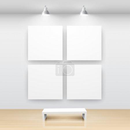 Gallery Interior with empty