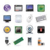 Technológia Icon set