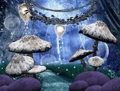 Enchanted nature series - Pathway in a magic forest