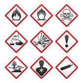 New Hazard warning signs Globally Harmonized System