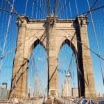 thumbnail of Manhattan Brooklyn Bridge closeup
